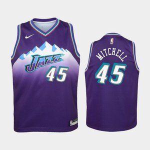 Women Utah Jazz Donovan Mitchell Jersey